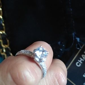 Diamond Ring S925 Size 7
